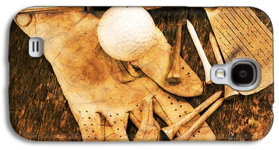 Golf Galaxy S4 Case featuring the photograph Golf Memorabilia by Charline Xia