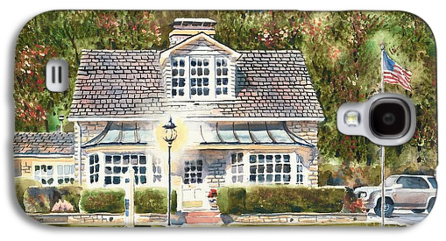 Greystone Inn Ii Galaxy S4 Case featuring the painting Greystone Inn II by Kip DeVore