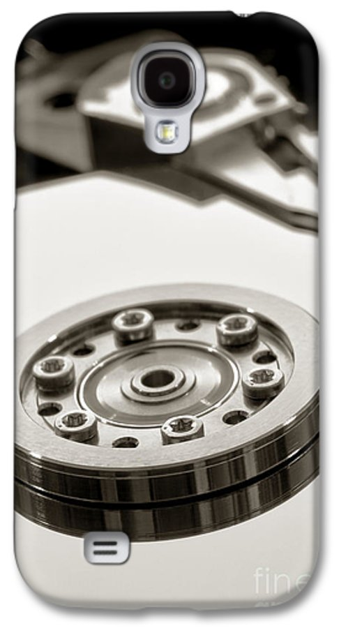 Computer Galaxy S4 Case featuring the photograph Hard Drive by Olivier Le Queinec