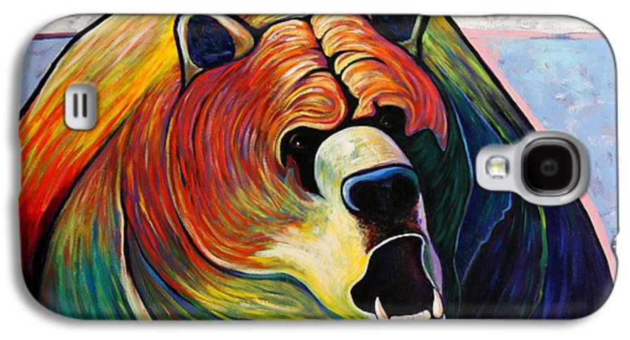 Wildlife Galaxy S4 Case featuring the painting He Who Greets With Fire by Joe Triano
