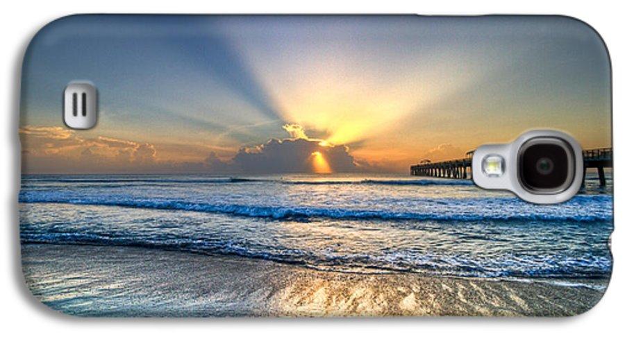Palm Galaxy S4 Case featuring the photograph Heaven's Door by Debra and Dave Vanderlaan