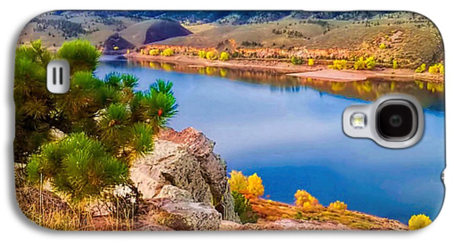 Horsetooth Lake Galaxy S4 Case featuring the photograph Horsetooth Lake Overlook by Jon Burch Photography