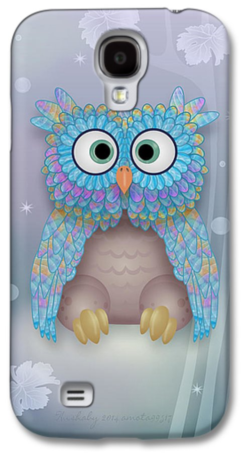 Owls Galaxy S4 Case featuring the digital art Hushaby by Gayle Odsather