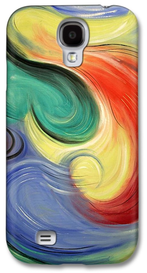 I Will Supply All Your Needs Galaxy S4 Case featuring the painting I Will Supply All Your Needs by Anthony Falbo