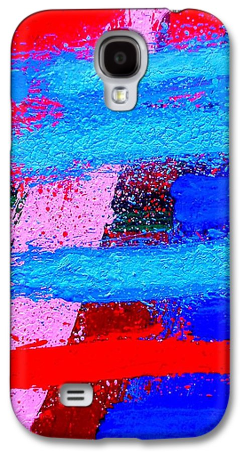 Abstract Galaxy S4 Case featuring the painting Imma  Iv by John Nolan