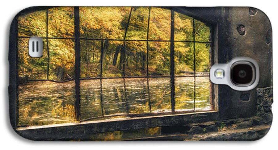 Window Galaxy S4 Case featuring the photograph Inside The Old Spring House by Scott Norris