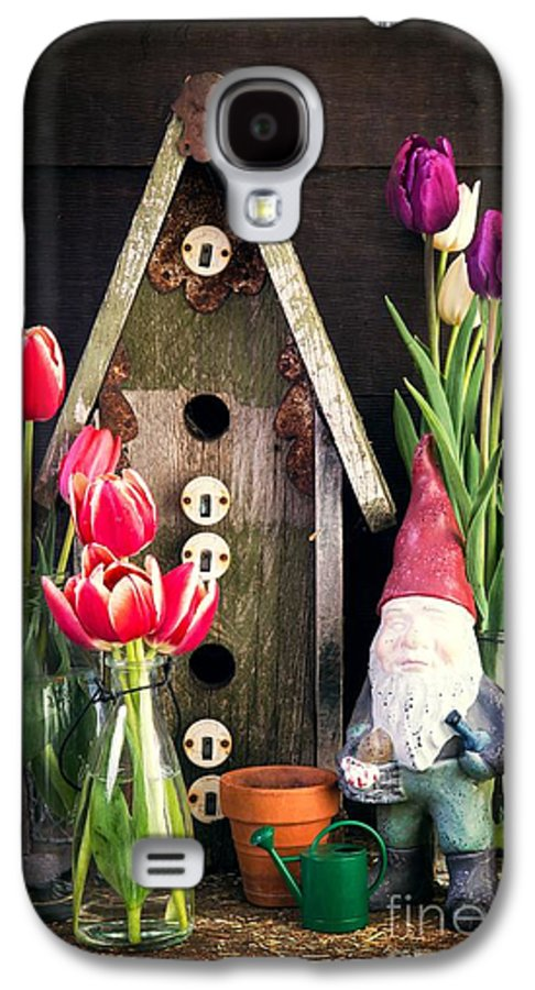 Barn Galaxy S4 Case featuring the photograph Inside The Potting Shed by Edward Fielding