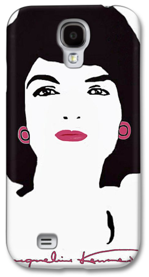 Jackie Galaxy S4 Case featuring the photograph Jackie Kennedy Signature Pink Lips by Jost Houk