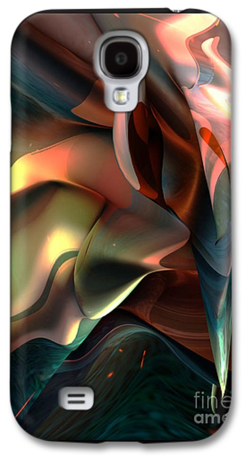 Painter Galaxy S4 Case featuring the painting Jerome Bosch Atmosphere by Christian Simonian