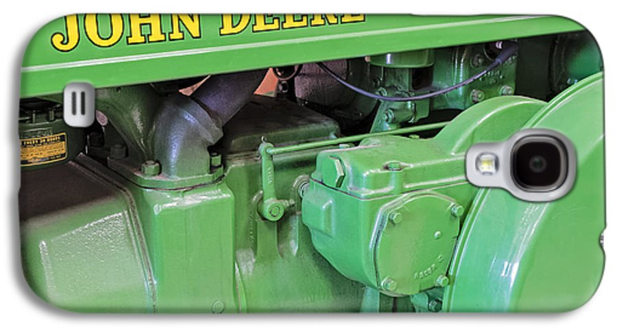 Diesel Galaxy S4 Case featuring the photograph John Deere Diesel by Susan Candelario