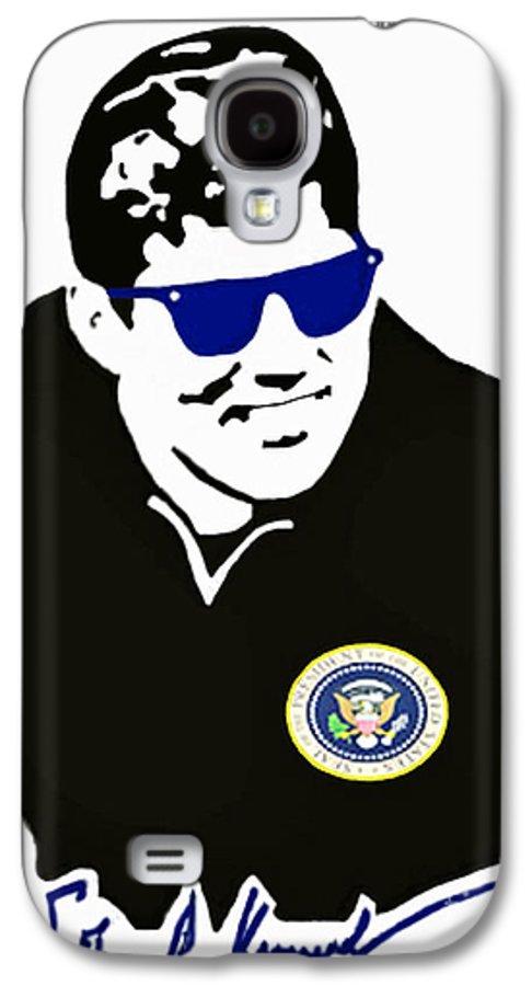 Jackie Galaxy S4 Case featuring the photograph John F Kennedy Signature Wayfarer by Jost Houk