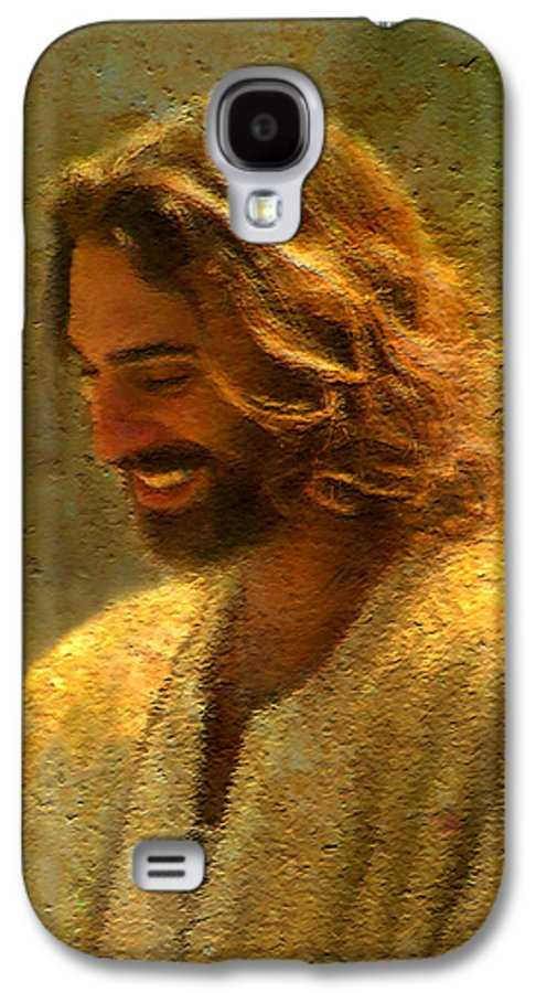 Jesus Galaxy S4 Case featuring the painting Joy Of The Lord by Greg Olsen