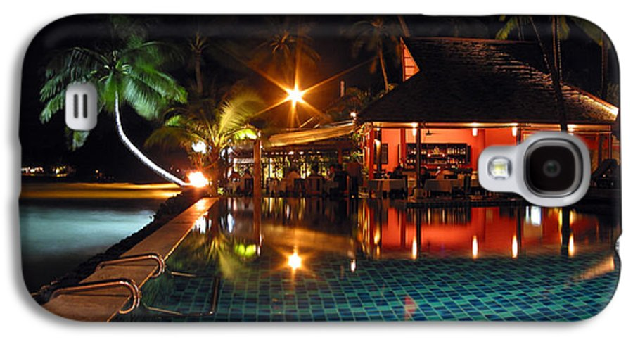 3scape Photos Galaxy S4 Case featuring the photograph Koh Samui Beach Resort by Adam Romanowicz