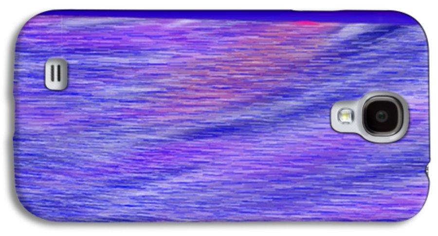 Sky.stars.sea.reflection.waves.evening.rest.silence. Galaxy S4 Case featuring the digital art Last Ray Of Sun by Dr Loifer Vladimir