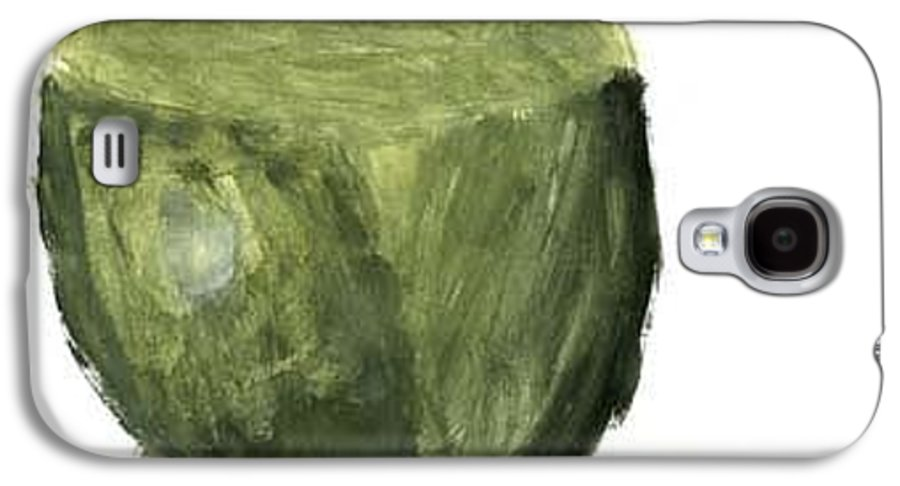 Fruit Galaxy S4 Case featuring the painting Leafed Out by Annika Anderson