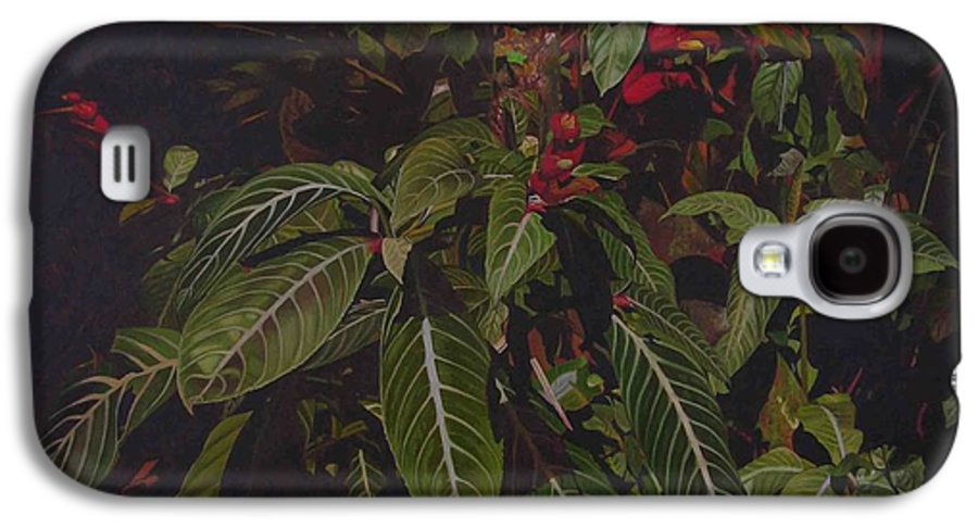 Leaves Galaxy S4 Case featuring the painting Leaving Monroe by Thu Nguyen