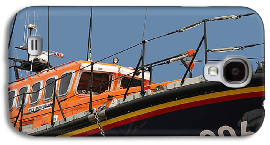 Life Galaxy S4 Case featuring the photograph Life Boat by Christopher Rowlands