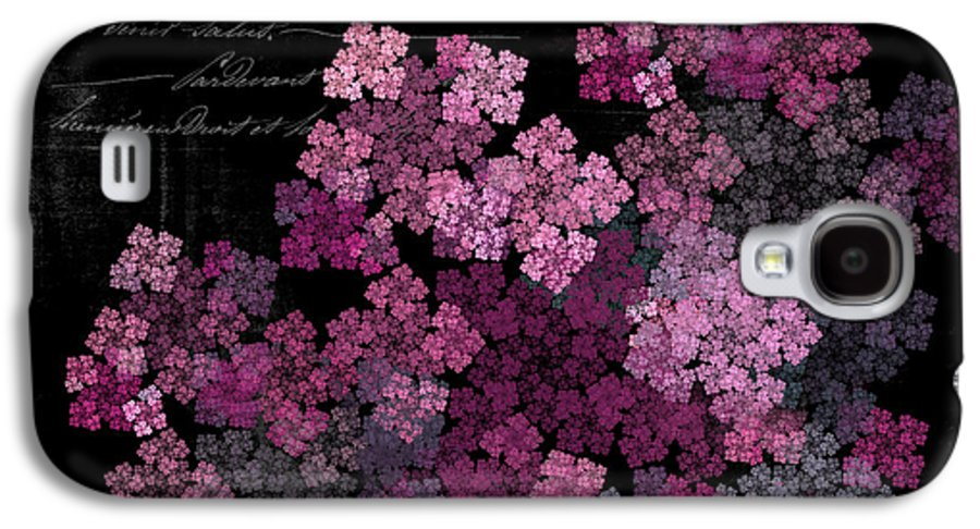 Lilac Galaxy S4 Case featuring the photograph Lilacs by Sylvia Thornton