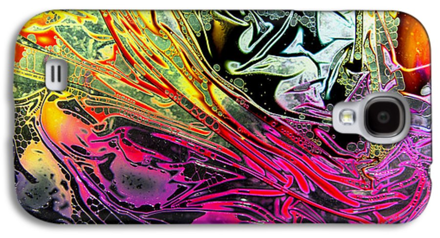Surrealism Galaxy S4 Case featuring the digital art Liquid Decalcomaniac Desires 1 by Otto Rapp