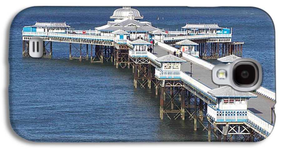 Piers Galaxy S4 Case featuring the photograph Llandudno Pier by Christopher Rowlands