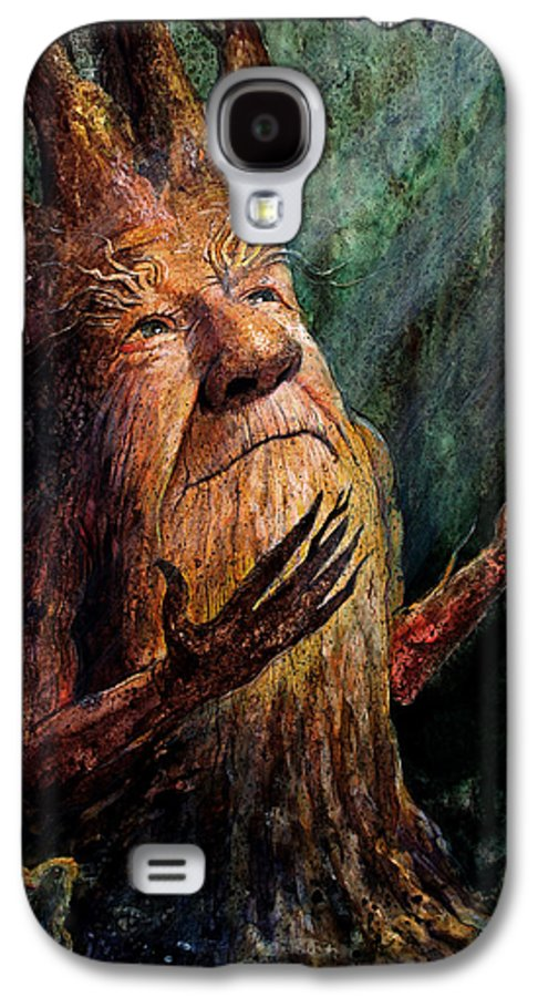 Treetch Galaxy S4 Case featuring the painting Looking To The Light by Frank Robert Dixon
