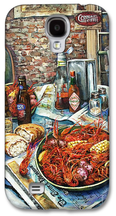 New Orleans Art Galaxy S4 Case featuring the painting Louisiana Saturday Night by Dianne Parks