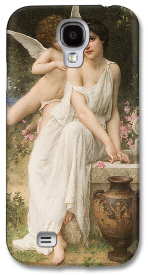 Love's Whisper Galaxy S4 Case featuring the digital art Loves Whisper by Charles Lenoir