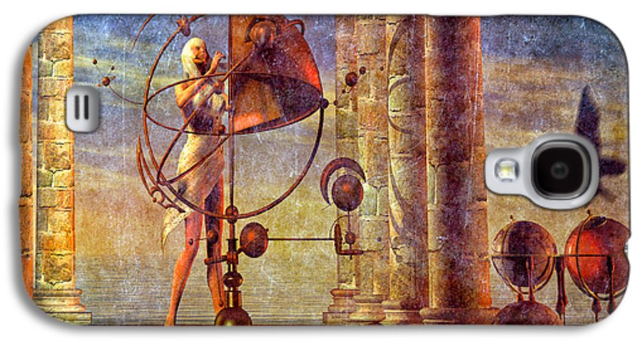 Orrery Galaxy S4 Case featuring the digital art Making Adjustments by Bob Orsillo