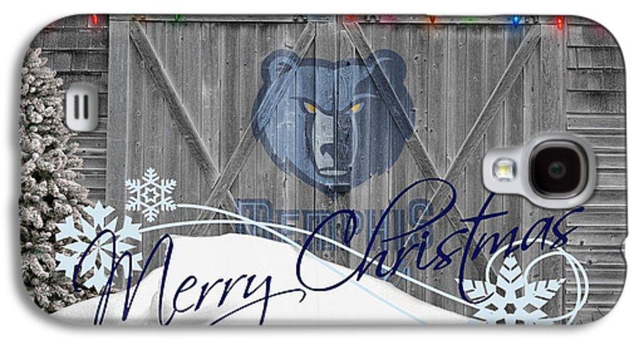 Grizzlies Galaxy S4 Case featuring the photograph Memphis Grizzlies by Joe Hamilton