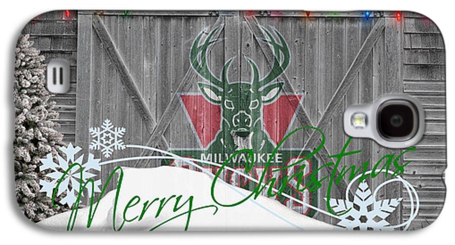 Bucks Galaxy S4 Case featuring the photograph Milwaukee Bucks by Joe Hamilton