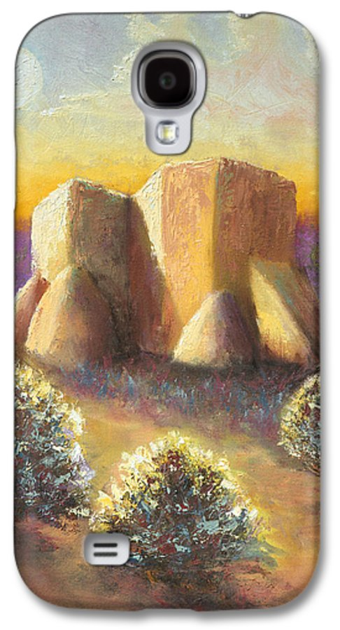 Landscape Galaxy S4 Case featuring the painting Mission Imagined by Jerry McElroy