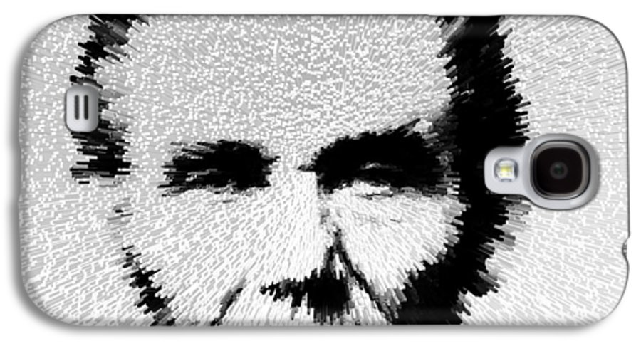 Abraham Lincoln Galaxy S4 Case featuring the painting Modern Abe - Abraham Lincoln Art By Sharon Cummings by Sharon Cummings