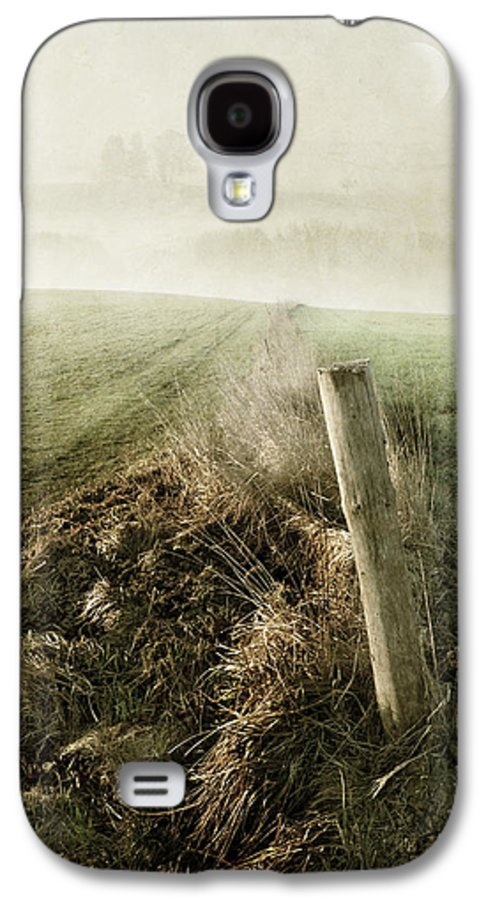 Silence Galaxy S4 Case featuring the photograph Morning Watch by manhART