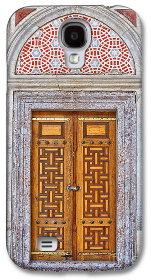 Door Galaxy S4 Case featuring the photograph Mosque Doors 04 by Antony McAulay