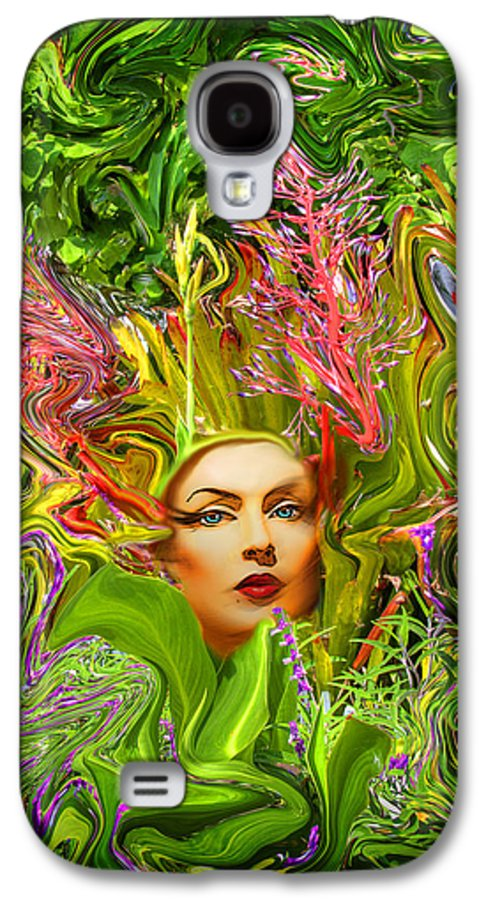 Floral Galaxy S4 Case featuring the photograph Mother Nature by Chuck Staley