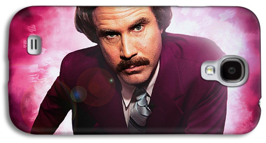 Mr. Ron Burgundy Galaxy S4 Case featuring the photograph Mr. Ron Mr. Ron Burgundy From Anchorman by Nicholas Grunas