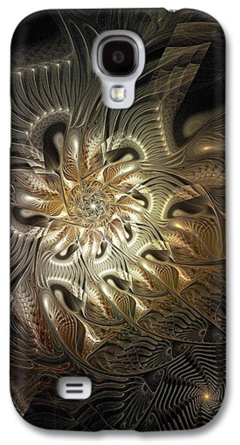 Digital Art Galaxy S4 Case featuring the digital art Mystical Metamorphosis by Amanda Moore