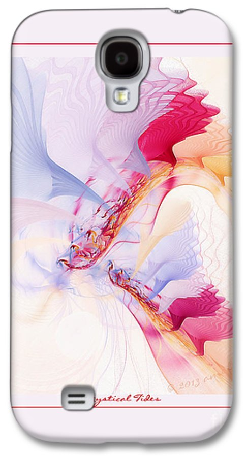Fractal Galaxy S4 Case featuring the digital art Mystical Tides by Gayle Odsather