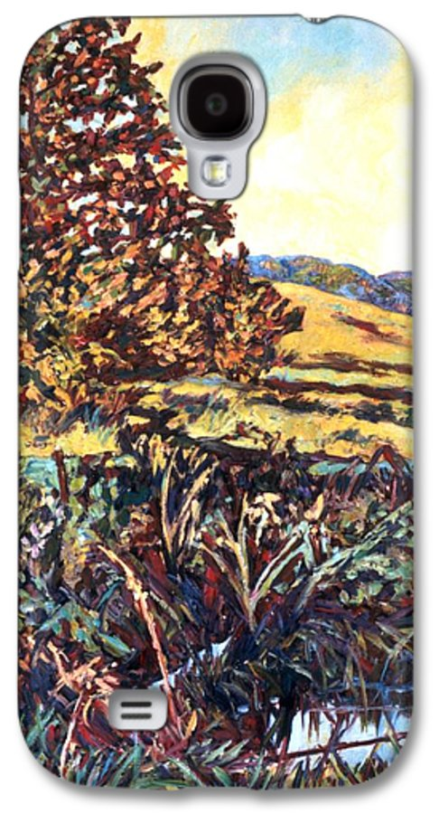 Landscape Galaxy S4 Case featuring the painting Near Childress by Kendall Kessler