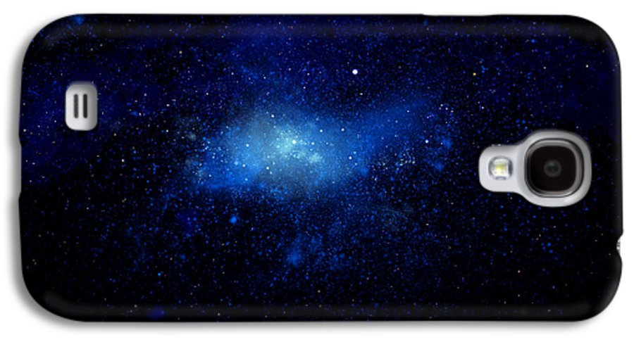 Nebula Ceiling Mural Galaxy S4 Case featuring the painting Nebula Ceiling Mural by Frank Wilson