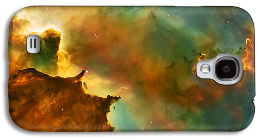 Nasa Images Galaxy S4 Case featuring the photograph Nebula Cloud by Jennifer Rondinelli Reilly - Fine Art Photography