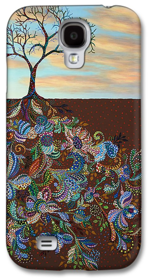 Tree Galaxy S4 Case featuring the painting Neither Praise Nor Disgrace by James W Johnson