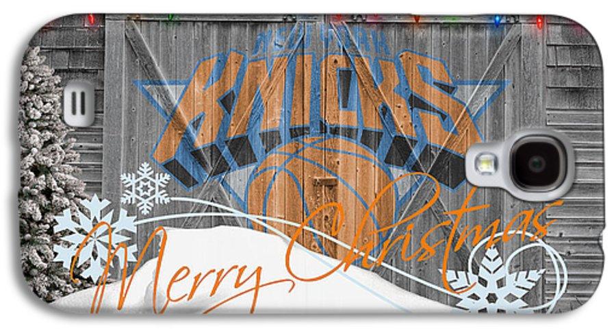 Knicks Galaxy S4 Case featuring the photograph New York Knicks by Joe Hamilton