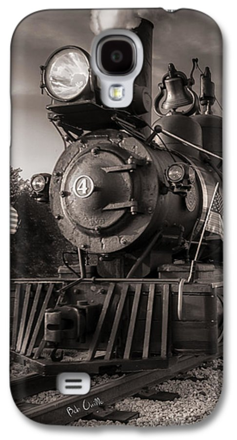 Trains Galaxy S4 Case featuring the photograph Number 4 Narrow Gauge Railroad by Bob Orsillo