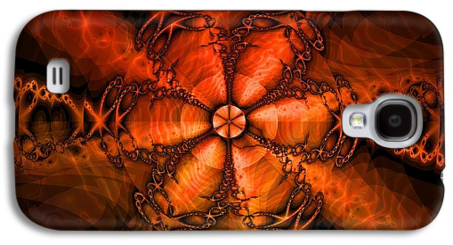 October Galaxy S4 Case featuring the digital art October by Elizabeth McTaggart