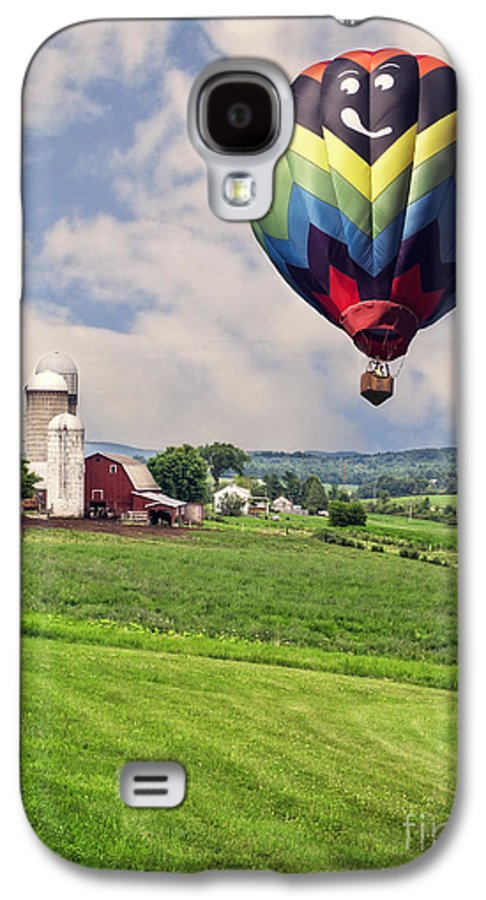 Wizard Galaxy S4 Case featuring the photograph Off To The Land Of Oz by Edward Fielding