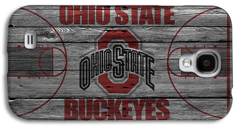 Buckeyes Galaxy S4 Case featuring the photograph Ohio State Buckeyes by Joe Hamilton