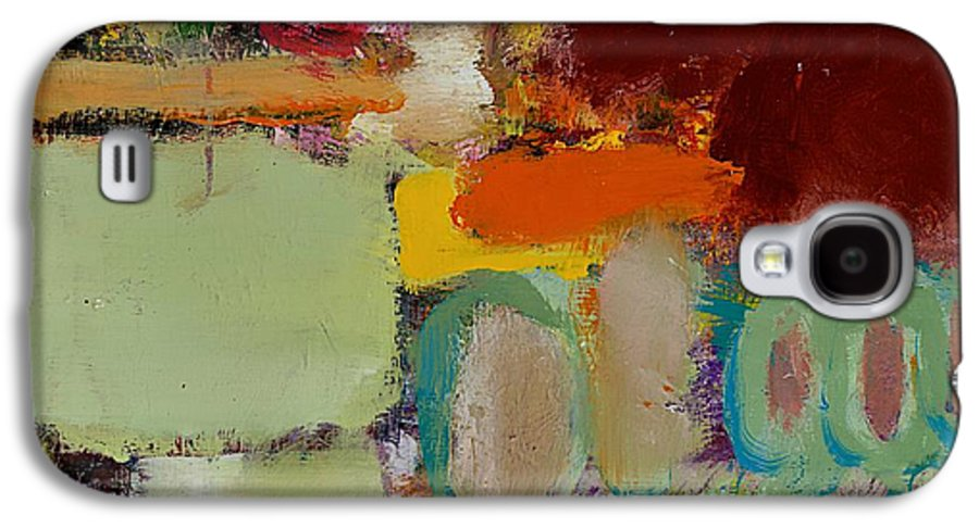 Landscape Galaxy S4 Case featuring the painting Over There by Allan P Friedlander