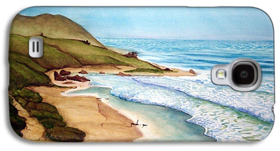 Rick Huotari Galaxy S4 Case featuring the painting Pacific by Rick Huotari