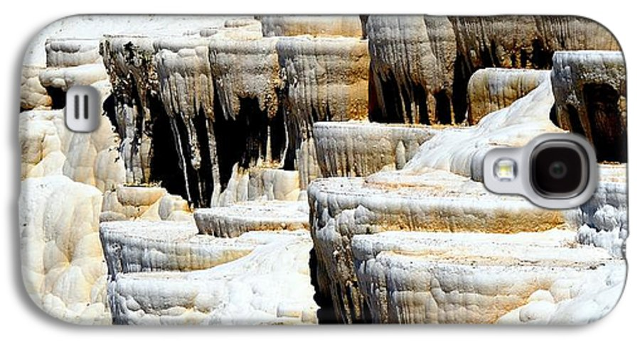 Pamukkale Galaxy S4 Case featuring the photograph Pamukkale Terraces by Apurva Madia